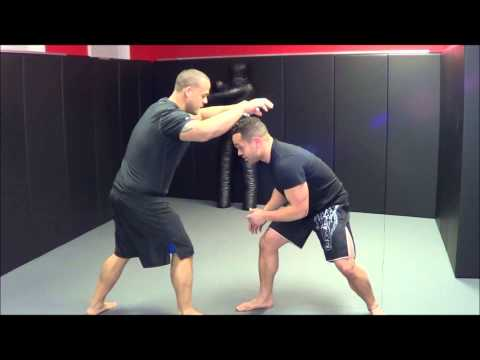 MMA Training: Double Leg Takedown Image 1