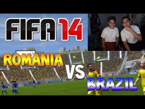 FIFA 14 : Random Pick! (Romania Vs. Brazil)