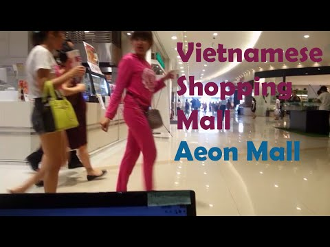 Things to do in vietnam - Visiting Aeon Mall