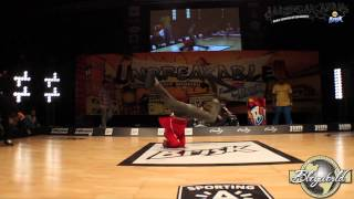 Bruce Allmighty vs Vicious Vic // .BBoy World // BREAKING 1on1 EIGHT-FINAL | UNBREAKABLE 2014