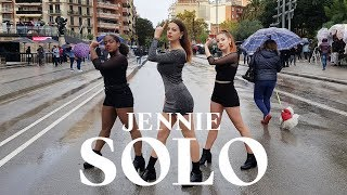 [KPOP IN PUBLIC RAINING CHALLENGE] | JENNIE (제니) - SOLO (솔로) Dance Cover [Misang] (One Shot ver.)