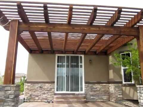 Building a Pergola How to build a pergola Part 2 - YouTube