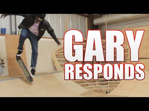 Gary Responds To Your SKATELINE Comments - Elijah Berle, Forrest Edwards, Vert Drop In, Kickflip