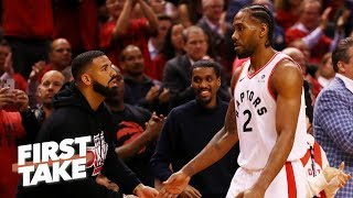 Stephen A. questions why the Raptors need to pitch Kawhi on staying in Toronto | First Take
