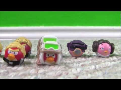 Angry Birds Star Wars Figures and Stickers!!!