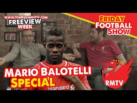 Mario Balotelli Special | 'Friday' Football Show | Freeview Week