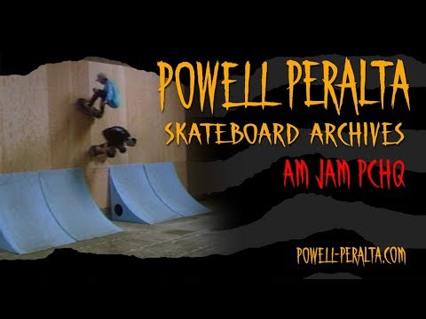 Powell Peralta Skateboard Archives - Am Jam at PCHQ 1988