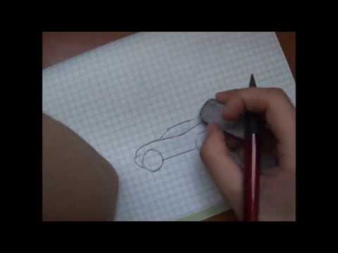 Видео как научиться рисовать машины