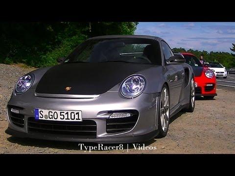 Porsche 911 GT2/RS Nürburgring Action! 1080p HD!