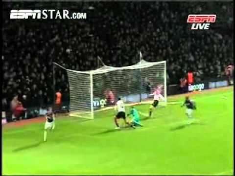 West Ham United VS Manchester United - Carling Cup
