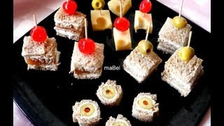 canapes rapidos
