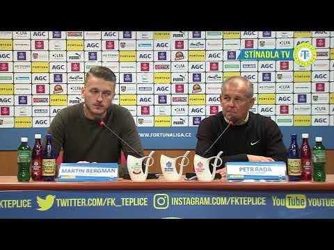 Tisková konference hostujícího týmu po utkání Teplice - Jablonec (30.9.2018)