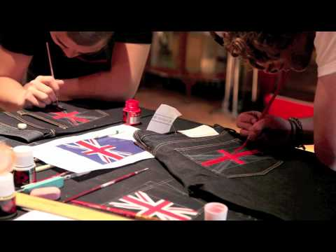 Evisu Limited Edition Hand Painting Video.m4v