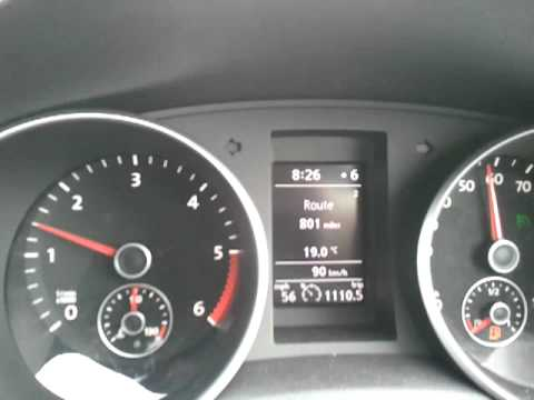 VW Golf 2 0 tdi Bluemotion technology