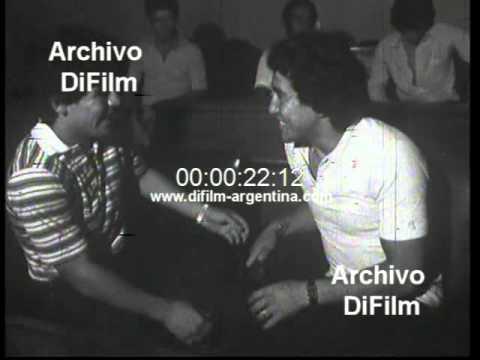 DiFilm - Menotti Maradona Passarella Bochini en la AFA (1980)