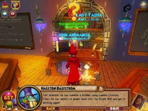 Wizard 101 walkthrough part 49: No Title Needed