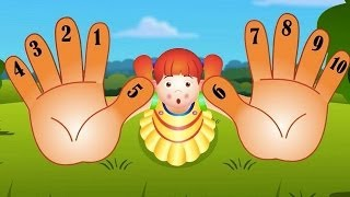 Ten Little Fingers Nursery Rhymes - Counting Song For Children