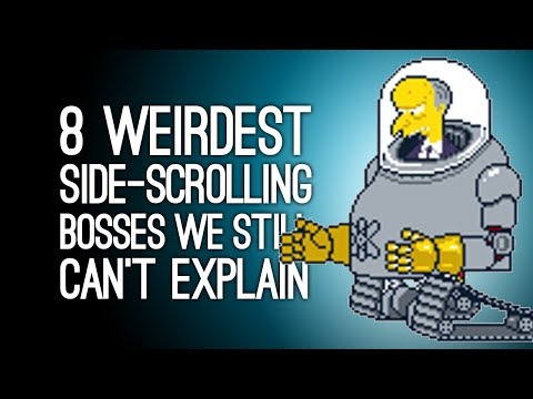 8 Weirdest Bosses in Side-Scrolling Beat-'Em-Ups We Still Can't Explain