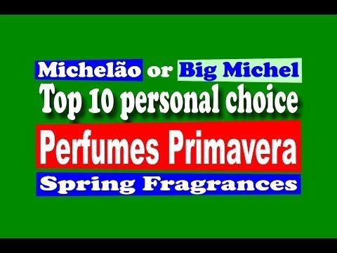 Perfumes Primavera Top 10 Spring Fragrances - with subtitles
