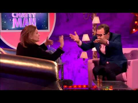 Carrie Fisher at Alan Carr: Chatty Man - June 2014