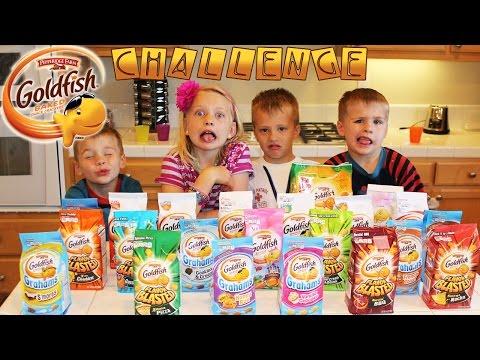 Goldfish Challenge -- Family Fun Pack Style