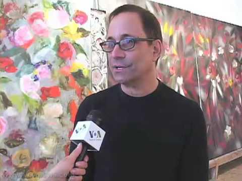 Ross Bleckner - First Artist as UN Goodwill Ambassador