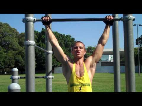 Chin up Workout Chin Ups Workout For Beginners