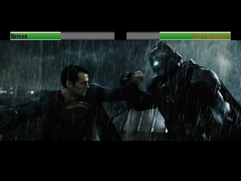 Batman vs Superman (BVS)...with healthbars