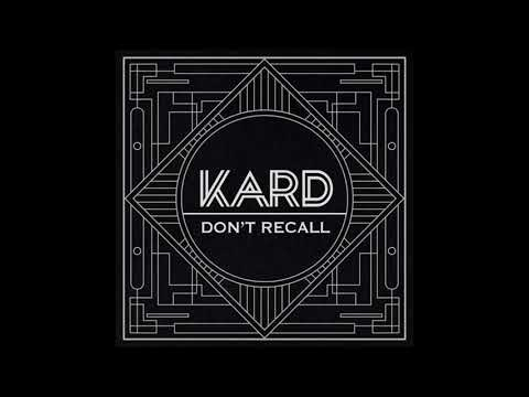 KARD - Don't Recall ( Instrumental)