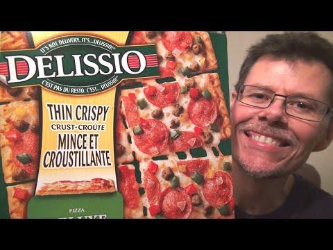 Frozen Pizza Review - Delissio Thin Crispy Crust