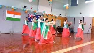 Group Dance Performance on Independence Day Celebration at Albury, NSW, Australia