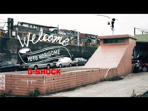 YUTO HORIGOME ON G-SHOCK [VHSMAG]