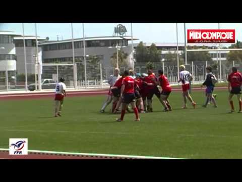 Rugby Petite Finale Super Challenge de France RC Toulon vs Dax 1ère mi-temps Match Toulon 2013
