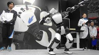 【4K】2017 国際ロボット展 INTERNATIONAL ROBOT EXHIBITION 2017(2/3)『TOYOTA:T-HR3』2017.11.29 @東京ビッグサイト