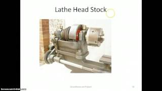 Lathe parts and its functions