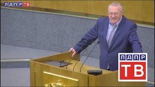 Наше мнение. Жириновский на отчете правительства Госдуме
