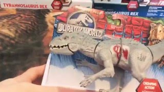 Jurassic world toys review