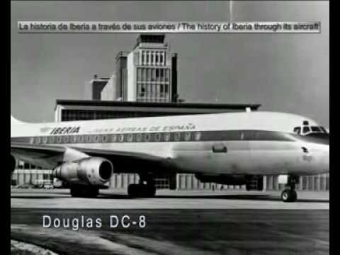 Iberia's history throught its aircraft.
