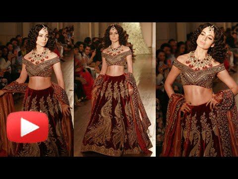 Kangana Ranaut Turns Royal Princess | Rampwalk | India Couture Week 2016