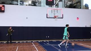 First Look at WNBA New York Liberty Rookie Han Xu 韩旭 Practice at Media Day 5-7-19