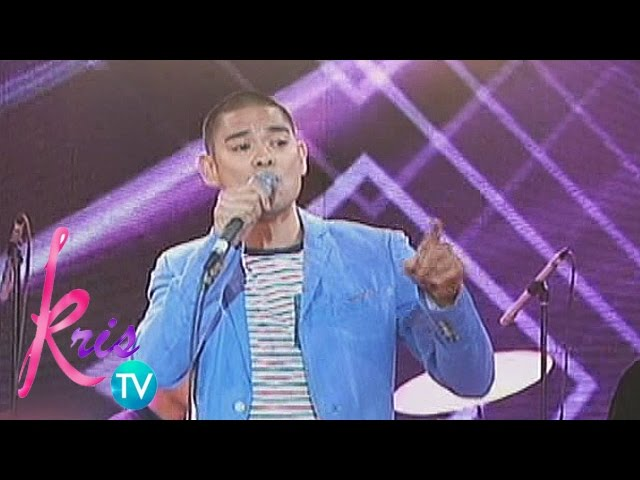 "Kris TV: Jay-R sings ""This Love"""