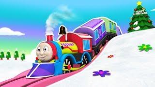 THOMAS THE TRAIN - Trains For Kids - Choo Choo Train - Cartoons For Kids - कार्टून - Train Kids