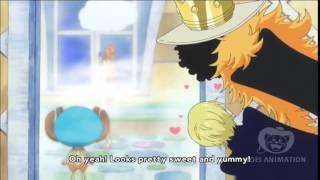 One Piece: Nami sexy scene