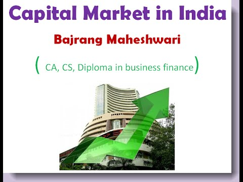 Banking and finance video lectures, Capital markets in India, Bank po videos
