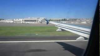 Airbus A320  TAKE OFF FROM RONALD REAGAN NATIONAL AIRPORT  WASHINGTON DC