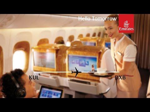 Flight Report | Emirates | Boeing 777-300ER | Kuala Lumpur - Dubai | Business Class