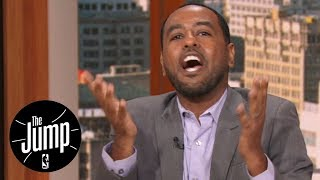 Amin Elhassan goes off on Stan Van Gundy for comments on restricting ESPN access | The Jump | ESPN
