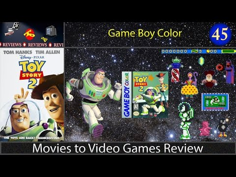 Movies to Video Games Review -- Toy Story 2 (Game Boy Color)