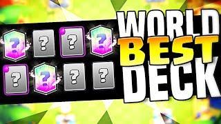 World's Best Deck - CHAMPIONSHIP DECK (Molt - Clash Royale)