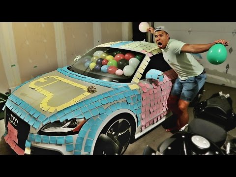 ULTIMATE REVENGE CAR PRANK ON DAD!!